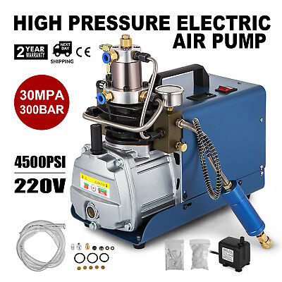 30MPa Air Compressor Pump 220V PCP Electric 4500PSI High Pressure System Rifle