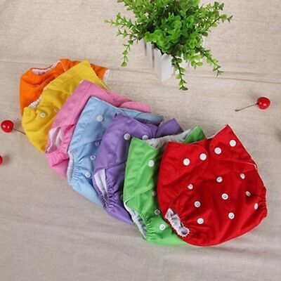 U Pick Baby Cloth Pocket Diapers Reusable Washable Nappies With Insert Lot