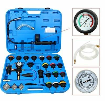 8milelake Universal Automotive Car Radiator Pressure Tester Tool 28pcs Kit Parts
