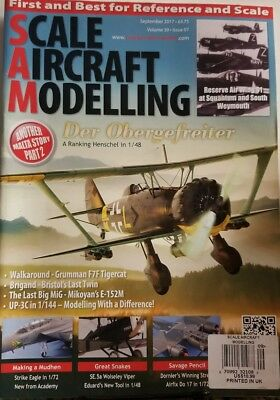 Scale Aircraft Modeling Sept 2017 Der Obergefreiter  FREE SHIPPING