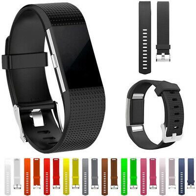 New Replacement Watchband Silicone Bracelet Strap For Fitbit Charge 2 Watch Band