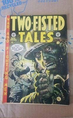 Two-Fisted Tales #30 Good condition pages  Classic Jack Davis cover EC 1952