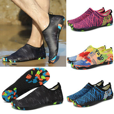 Unisex Outdoor Slip On Aqua Shoes Beach Surf Sports Swim Diving Water Shoes