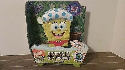 SpongeBob Squarepants Singing in the Shower - RARE