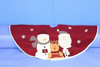 Large Luxury Christmas Tree Skirt 122cm. Jingles. Delivery is Free
