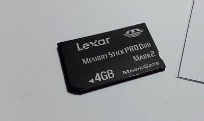 Sony Memory Stick MS Pro Duo Memory Card for Sony PSP and Cybershot Camera