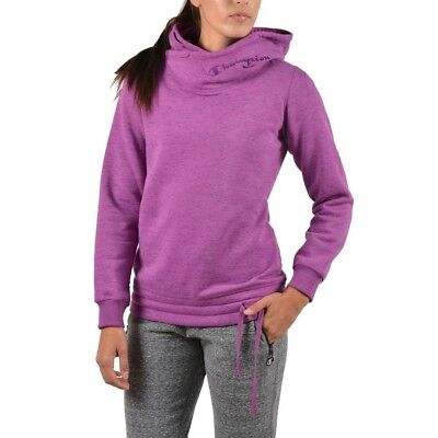 Felpa Donna Viola Hooded Champion