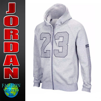 11ce6bc4af5a Nike Men s Size Large Air Jordan Flight Flash 23 Full Zip Hoodie 853849-063