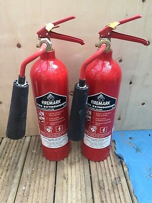 2 x 2kg CO2 Fire extinguishers