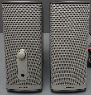 Bose Companion 2 Series II Multimedia Speaker System Computer AUX