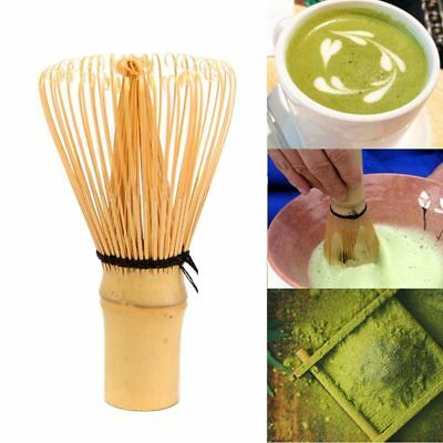 Matcha Whisks Bamboo Powder Green Tea Japanese Brush Tool, 80 Prongs U2K2