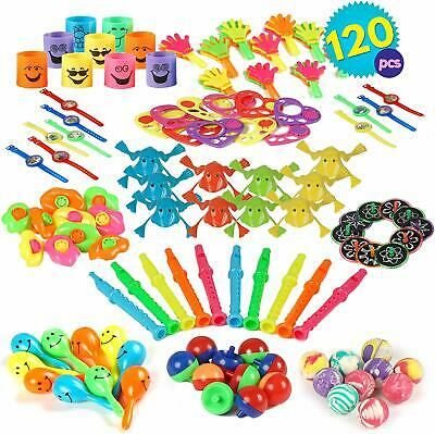 120 Pack Party Bag Fillers Kids Children's Games Prizes Toys Wedding Loot Favour
