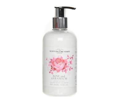 Scottish Fine Soaps Company Rose & Geranium Hand Lotion 300ml