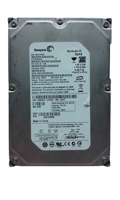 "Lot of 2 Seagate Barracuda ES ST3750640NS 750GB 3.5"" SATA II Enterprise Hard"