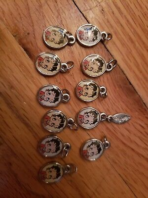 Lot Of 11 Betty Boop Charms