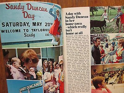 July 29, 1972 TV Guide (SANDY DUNCAN/LOVE  AMERICAN  STYLE/CAROL  LEHTI)