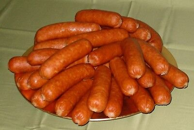 Collagen Smoked Sausage Casing 26 mm x 100't for 30 lb of sausage $8.90