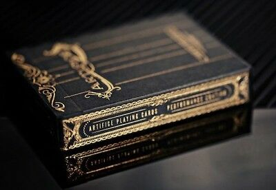 Ellusionist RARE Gold Artifice Playing Cards USPCC Limited Supply
