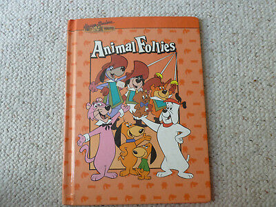 Vintage Hanna Barbera Animal Follies Picture Book