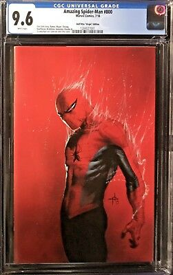 Amazing Spider-Man (2018) #800 CGC 9.6 Incentive Dell'Otto 1:200 Virgin Variant!