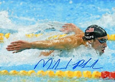 Michael Phelps Signed 8x10 Photo Reprint Autographed RP