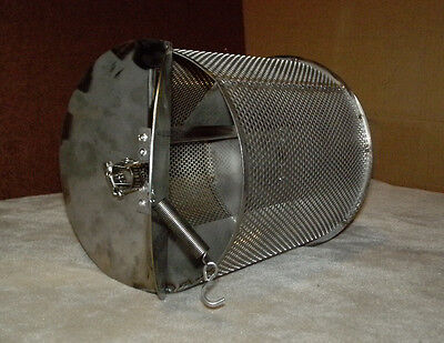 2 Lb Capacity Coffee Roaster Drum For Bbq Grill Chile Peanut Cacao Roasting