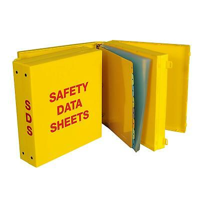 """SDS 'Heavy Duty' 3.0'' 2 Compartment Binder -  2 Sets of 1"""" Metal Round Rings"""