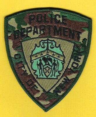New York City Police Department Camouflage Patch ~ Outstanding ~ L@@k