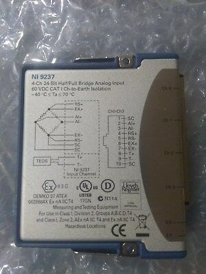 National Instruments, NI 9237  Bridge Analog Input,  4 Ch Module, W/ USB Carrier