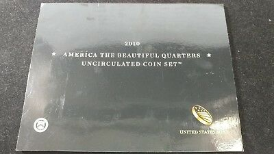 2010 P&D US Mint America the Beautiful Uncirculated 10 Coin Quarter Set