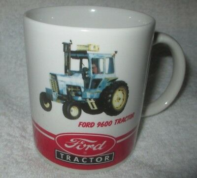 FORD TRACTOR Coffee Mug model 9600 farming agriculture  OFFICIAL LICENSED MUG