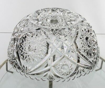 Vintage Crystal Lamp Shade Depression Glass