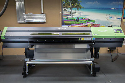 "Roland LEC-540 54"" UV Printer and Cutter"