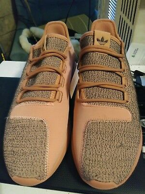 quite nice ae6a4 c3a87 adidas Originals Womens Tubular Shadow Running Shoe Raw Pink BY9740