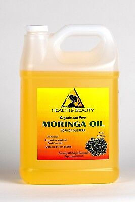 Moringa Oleifera Oil Organic Carrier Cold Pressed Natural Fresh 100% Pure