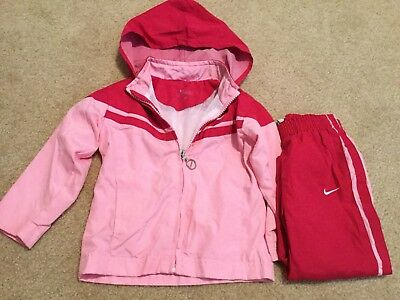 f246a06b4cfa76 Infant Girl NIKE Pants And Jacket 2 Piece Athletic Outfit Track Suit SZ 18  M (