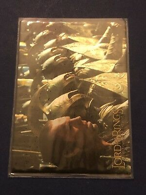 2001 Topps Lord Of The Rings Card #7 The Fellowship Of The Ring