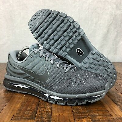 18c99d199b Nike AIR MAX 2017 Running Shoes Cool Grey 849559-008 Retail $259 Mens Size  14