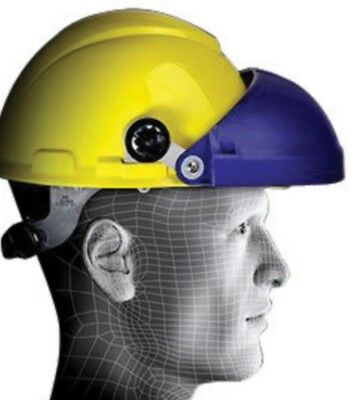 3M 82502-00000 H18 Cap Mount Hard Hat Headgear for Face Protection