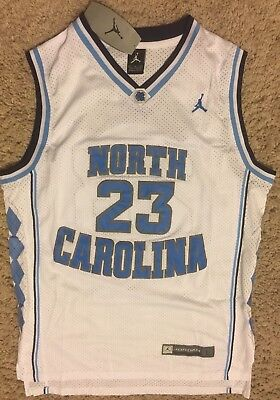 0b14d445ce1 Nike Jordan Brand North Carolina Ncaa Michael Jordan Jersey Size Medium M  White