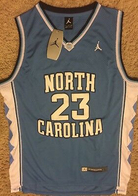 9090024f0d2 Nike Jordan Brand North Carolina Ncaa Michael Jordan Jersey Large L Baby  Blue