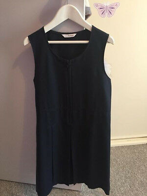 3 x Girls Navy Marks & Spencer Pinafore Uniforms