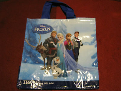 73db65f9524a NEW TESCO FROZEN DISNEY SHOPPING BAG SHOPPER Reused-able free postage in UK
