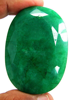 504.35 Ct Certified Natural Emerald Huge Earth Mined Loose Oval Gemstone- 130001