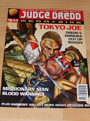 Judge Dredd Megazine - Issue 19 - July 1996 comic