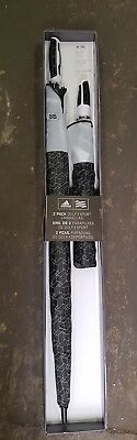 Adidas 2 pack White and Black Golf/Sport Umbrellas