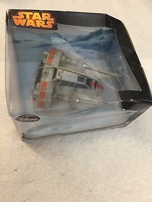 Star Wars Snowspeeder Die Cast Vehicle In Box Never Opened box slightly damaged
