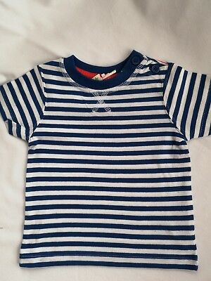 New Ex John Lewis Baby Boys Toddler Short Sleeve T-Shirt 0-3 Months - 2-3 Years