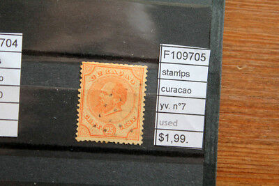 Stamps Curacao Yvert N°7 Used (F109705)