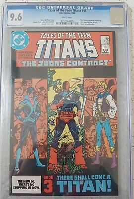 Tales of the Teen Titans 44 9.6 CGC ***1st Nightwing & Origin of Deathstroke***